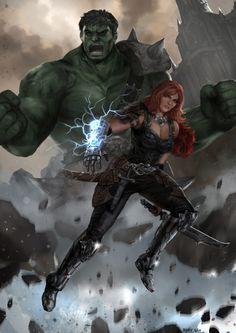Hulk dating sort enke matchmaking projekt m