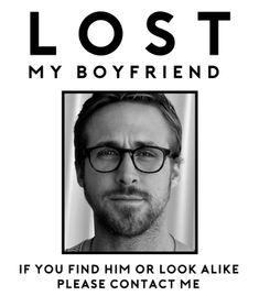 boyfriend, love, amor, lost, ryan gosling, sexy, wtf, cute, graphic, instagram, style, fashion, bae, tumblr
