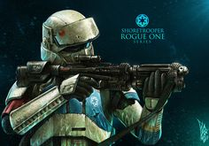 ArtStation - Shore Trooper Fan Art - ROGUE ONE, Shane Molina