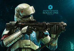 ArtStation - Shore Trooper Fan Art - ROGUE ONE, Shane Molina
