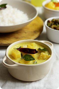 Ananas Sasam/Pineapple Sasve Recipe | Pineapple in Coconut-Mustard Curry