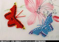 珍珠蝴蝶的编法-编法图解-立体绳结教程与交流区-中国结论坛 -