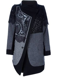 ANTONIO MARRAS Sequin Embellished Coat