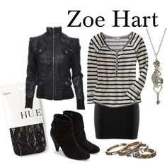 Zoe Hart by loveandpixiedust on Polyvore
