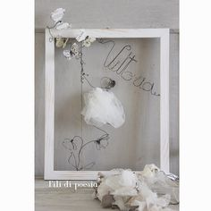 flying with butterflies  in a  shabby chic style