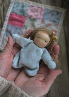 Pocket doll by Poppenliefde