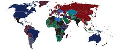 What color is your passport? #map #travel