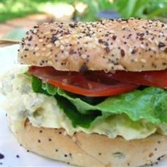 Worlds Best Egg Salad Sandwich