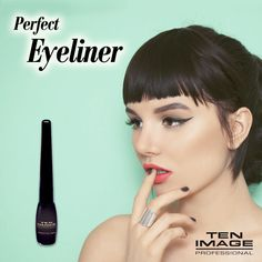 ¡Intensifica tu mirada con un simple trazo!  Perfect Eyeliner: http://ow.ly/zKwbD  #TENIMAGE #ojos #maquillaje