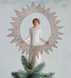 Starlight Willow Tree® Angel Tree Topper Figurine