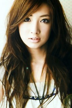 Keiko Kitagawa. I love her hair and make up.