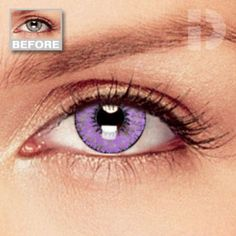 Violet Coloured Contacts | Cheap Colored Contact Lenses, Cheap Coloured Contact Lenses, Colored Contacts & Cheap Coloured Contacts