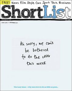 Shortlist cover