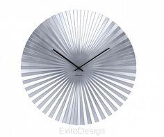 Zegar ścienny Sensu steel silver 50  by Karlsson
