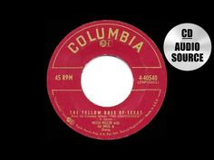 1955 HITS ARCHIVE: The Yellow Rose Of Texas - Mitch Miller - YouTube