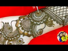 latest Stylish arebic easy Western arebic beautiful mehndi design for ✋hand by sakshi gupta Very Simple Mehndi Designs, Pretty Henna Designs, Henna Tattoo Designs Simple, Back Hand Mehndi Designs, Stylish Mehndi Designs, Mehndi Designs 2018, Mehndi Designs Book, Mehndi Designs For Girls, Mehndi Designs For Beginners