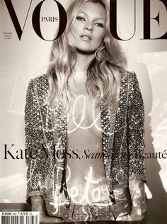 Love this Kate Moss Vogue cover