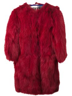 fox fur pullover coat simonetta ravizza f.w2013 farfetch