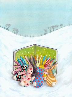 Spring Bunnies, by Sophie Blackall