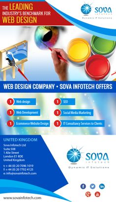 Web Design Company London Sova Infotech Gets Itself Listed in London CompaniesintheUK  Sova Infotech, a professional  web design company London and ecommerce website design London got ourselves listed. Now you can find us easily on your London local business directories and review us on for web design London, ecommerce website design, SEO company London.