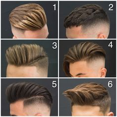 What is your favorite hairstyle? #tag your friends ✂️✂️by @javi_thebarber_ ✂️✂️✂️✂️