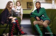 Chanel's ad campaign pre-fall - Cara Delevingne