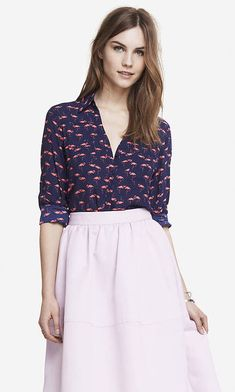 bb1407f809a2d My LuxeFinds  Style Guide  Pink Flamingo Love and Fashion Inspiration  Portofino Shirt