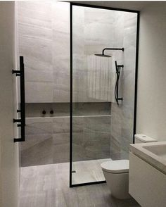 Best Bathroom Renovation Ideas Beautiful shower room remodel and also complete transformation to this dream bath! Restroom Improvement Ideas: shower room remodel expense, bathroom suggestions for little shower rooms, tiny washroom layout concepts. Bathroom Toilets, Bathroom Renos, Bathroom Renovations, Bathroom Interior, Bathroom Ideas, Shower Bathroom, Bathroom Organization, Master Bathrooms, Remodel Bathroom