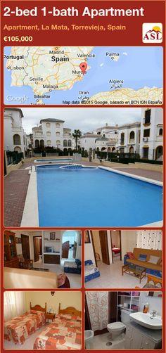 2-bed 1-bath Apartment in Apartment, La Mata, Torrevieja, Spain ►€105,000 #PropertyForSaleInSpain