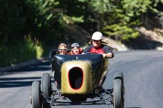 Hot rods are a family affair at the #HotRodHillClimb in #GeorgetownColoado