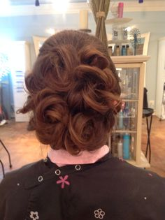 Southern updo!