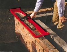 Tool that will simplify the work on the construction field now you can use it. This is easy project that can be made as DIY project and will help a lot in the house building process. This way the bricks will be on its place easier, faster and more important – all the same. You don't need measurements all the time to make the wall leveled. You don't have overloaded and less loaded pieces with cement while connecting the bricks…