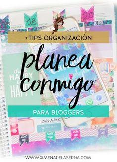 Cómo organizar mi tiempo: Si te encantan los vídeos de Planea Conmigo y buscas tips para organizarte mejor y ser más productiva con tu blog, bienvenida!
