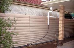 Slim Thin Poly Rainwater Tanks, Perth Our Slimline Poly water tanks provide minimum intrusion onto your property.