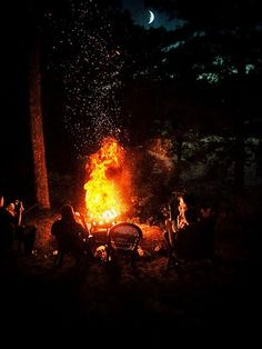 there's nothing like a big campfire!