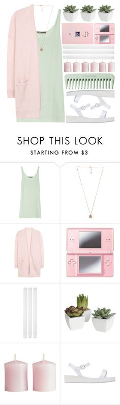 """spring love..."" by cinnamon-and-cocoa ❤ liked on Polyvore featuring Vince, Michael Kors, By Malene Birger, Nintendo, Pier 1 Imports, H&M and Ancient Greek Sandals"