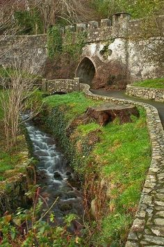 Medieval+Castle,Tollymore Forest Park, Northern Ireland