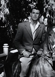 Cary Grant in Notorious (1946)