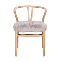 Crane Chair Fur Seat Grey | HD Buttercup | From Runway to Home | Travelshopa