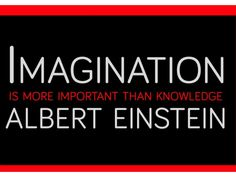 imagination-is-more-important-than-knowleadge-albert-einstein by SeoCustomer.com via Slideshare