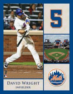 New York Mets infielder David Wright