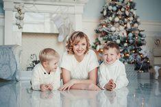 """Новогодняя семейная фотосессия """"Светлый Новый год"""""""