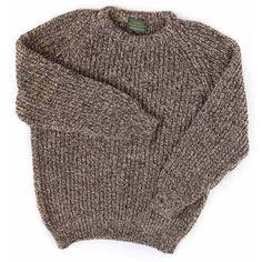 Ely, medium - Classic Ragg Wool Sweater, Crewneck: Crewnecks ...