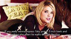 And gives some solid advice. | Definitive Proof Hanna Marin Is The Best Pretty Little Liar