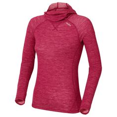 Odlo - Women's Shirt LS With Facemask Revolution Warm | Buy online with free delivery | Bergfreunde.co.uk