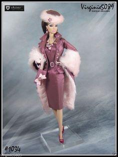 Tenue Outfit Accessoires Pour Fashion Royalty Barbie Vintage 1034 | eBay