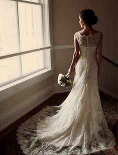 Perfection in a gown! Wow!
