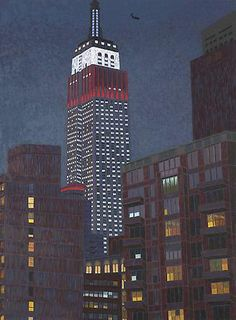 YVONNE JACQUETTE Empire State Building II (2009)