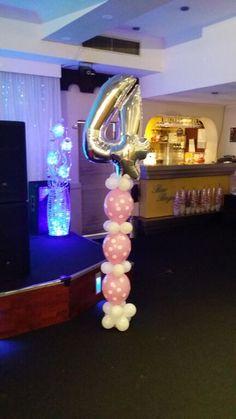 Number Column. balloonart.com.au