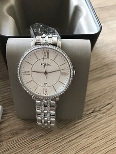 Ladies Brand New Original Jacqueline Fossil Watch With Gift Box | eBay Fashion Watches, Gold Watch, Fossil, Quartz, Rose Gold, Brand New, Lady, Box, Birthday